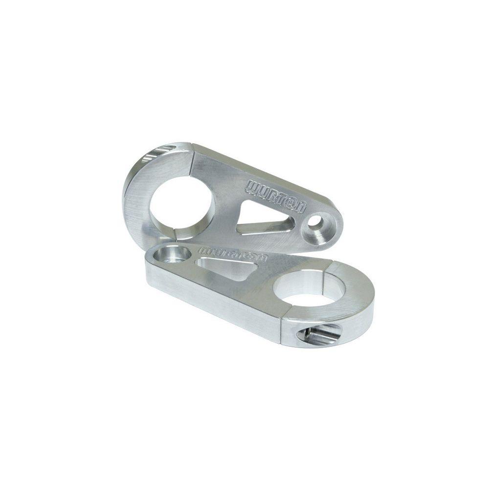 Wurton ® - 1.75 Inch Aluminum Tube Clamp Light Bar Mounting Brackets (86230)