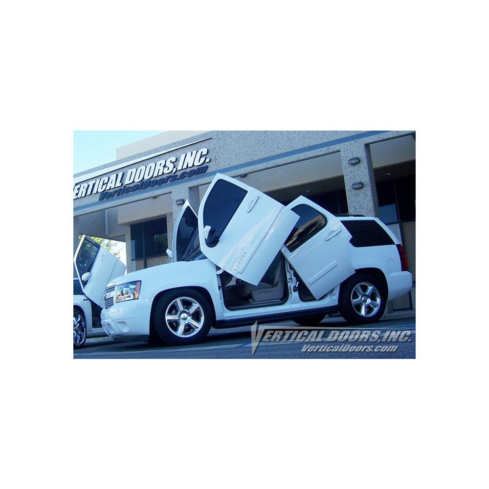 Vertical Doors ® - Custom Rear Vertical Lambo Door Conversion Kit (VDCCHEVYTAH07UPREAR)