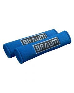 Braum Pair Of Blue Racing Harness Pads BRHP-2BLU