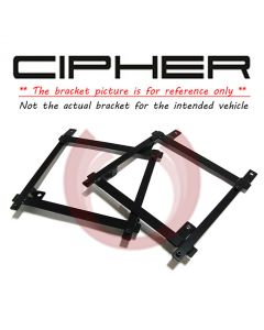 Cipher Auto ® - Driver Side Custom Seat Bracket (7154FDRNGR-DR)
