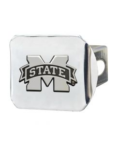 Fanmats ® - Mississippi State University Chromed Metal Hitch Cover (19242)