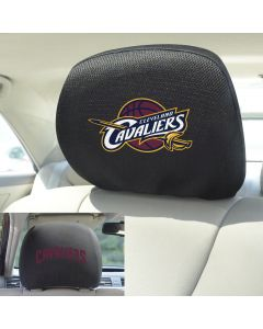 Fanmats ® - Pair of NBA Cleveland Cavaliers Universal Headrest Covers (17204)