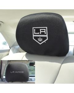 Fanmats ® - Pair of NHL Los Angeles Kings Universal Headrest Covers (17164)