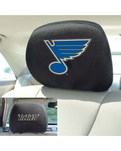 Fanmats ® - Pair of NHL St Louis Blues Universal Headrest Covers (17188)