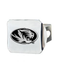 Fanmats ® - University of Missouri Chromed Metal Hitch Cover (15097)