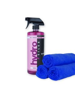 Hydrosilex ® - 32 oz Rewind Aftercare Wax And Grease Remover Soap With 5 Microfiber Towels