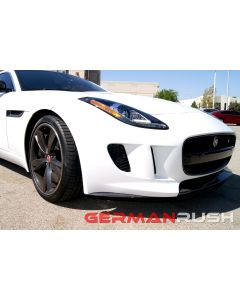 Vertical Doors ® - German Rush™ Carbon Fiber Front Splitter and Side Splitter Kit (GRJAGCFFSFSS1446)