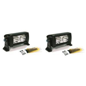 Wurton ® - Dual 5 Inch 10 Watt High Performance Spot Beam LED Light Bar Kit (22051)