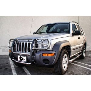 Black Horse Off Road ® - Grille Guard (17EH26MSS)