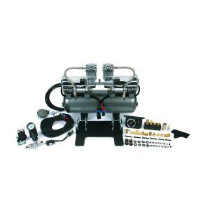Viair ® - High Speed Onboard Air System 2on2 Platform with Jeep JK Crossmember Bracket (30001)