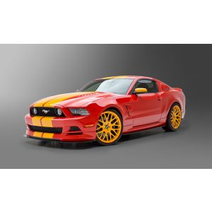 3dCarbon ® - Ford Mustang Boy Racer 6 Pc. Kit