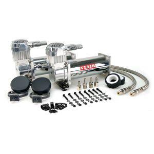 Viair ® - Dual Performance Chrome Air Compressors Value Pack 444C (44432)