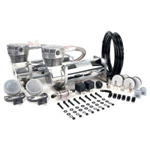 Viair ® - Dual Performance Chrome Air Compressors Value Pack 480C (48032)