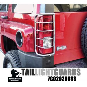 Black Horse Off Road ® - Tail Light Guards (7G020206SS)