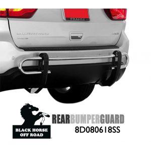 Black Horse Off Road ® - Rear Bumper Guard (8D080618SS)