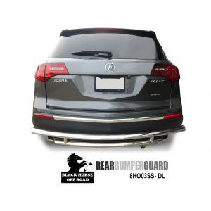 Black Horse Off Road ® - Rear Bumper Guard B(8HO03SS-DL)