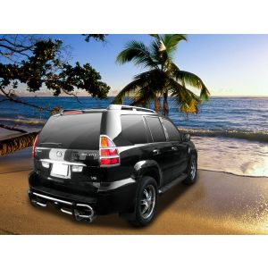 Black Horse Off Road ® - Rear Bumper Guard (8TM30SS)