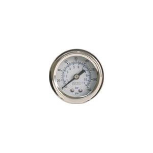 Viair ® - 1.5 Inch Single Needle White Face In-Dash Gauge (90084)
