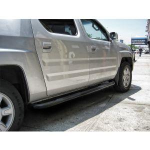 Black Horse Off Road ® - Black 3 Inch Round Side Steps (9HO152501BK)