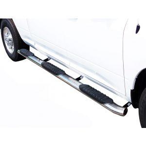 Black Horse Off Road ® - 5 Inch Wheel To Wheel Side Steps (9B35705SSWTW-5BN)