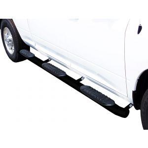 Black Horse Off Road ® - 5 Inch Wheel To Wheel Side Steps (9B35705BKWTW-5BN)