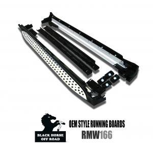 Black Horse Off Road ® - Mercedes-Benz ML OEM Replica Running Boards (RMW166)