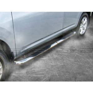 Black Horse Off Road ® - Stainless Steel 3 Inch Round Side Steps (9B110402SS)