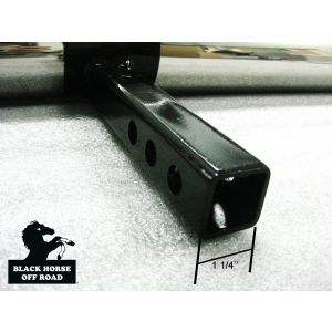 Black Horse Off Road ® - Universal 1.25 Inch Stainless Steel Rear Bumper Protector Length 36 Inch (RBP2000SS)