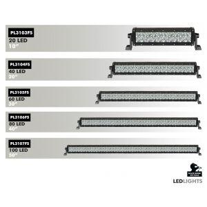 Black Horse Off Road ® - 40 Inch Spot and Flood Universal LED Lights Bar (PL3106FS)