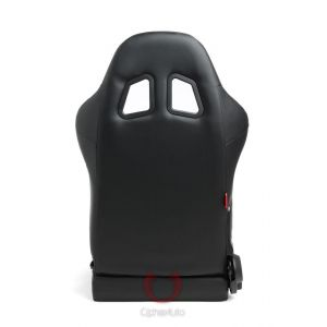 Cipher Auto ® - Black Leatherette Universal Racing Seats (CPA1025PBK)