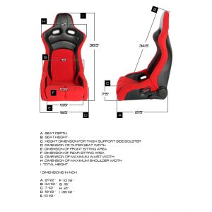 Cipher Auto ® - Black PU Leatherette and Carbon Fiber PU with White Stitching Universal Viper Racing Seats (CPA2002PCFBK-W)