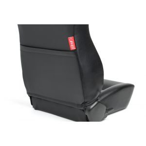 Cipher Auto ® - Black Leatherette Universal Jeep Seats (CPA3001PBK)