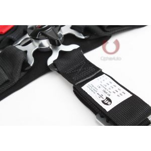 Cipher Auto ® - Black 5 Point 3 Inches Camlock Racing Harness SFI 16.1 (CPA4005BK)