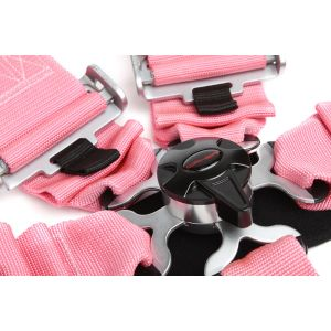 Cipher Auto ® - Pink 5 Point 3 Inches Camlock Racing Harness SFI 16.1 (CPA4005PK)