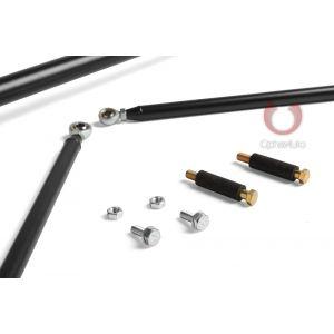Cipher Auto ® - Black Custom Racing Harness Bar (CPA5009HB-BK)
