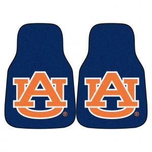 Fanmats ® - Pair of Auburn University Universal Carpet Front Floor Mats (5079)