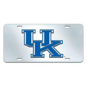 Fanmats ® - University of Kentucky Mirrored Inlaid Acrylic License Plate (14989)