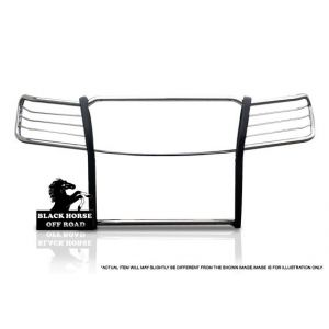 Black Horse Off Road ® - Grille Guard (17GD26MSS)
