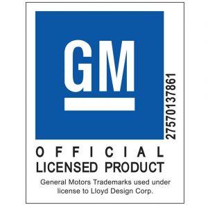 Lloyd Mats ® - Classic Loop Black Front Floor Mats For Corvette C5 with C5 Logo Gold Applique