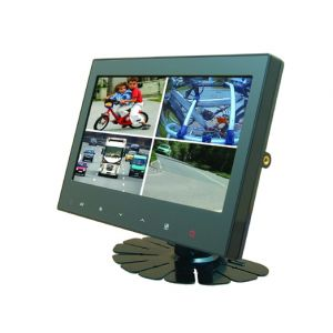 Mito Auto ® - CAMOS 7 Inch LCD Quad Screen View Monitor With Audio and 6 Inputs (01-CM709M2)