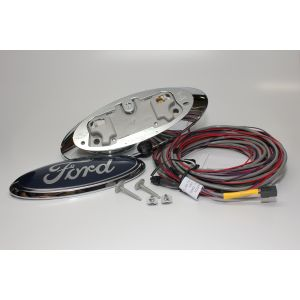 Mito Auto ® -  Ford Emblem Camera With 28 Feet Harness And Guidelines (20-FORDCAMKIT)