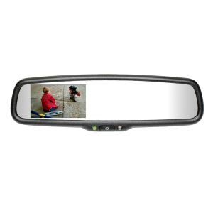 Mito Auto ® - Gentex Auto-Dim Universal Rearview Mirror With 3.3 Inch RCD (50-GENK332S)