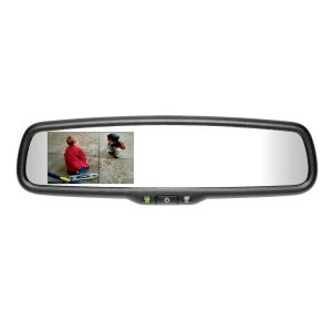 Mito Auto ® - Gentex Auto-Dim Universal Rearview Mirror With RCD, Compass and Temperature (50-GENK3320S)