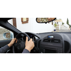 Mito Auto ® - Parrot Bluetooth Hands Free Car Kit With Wired Remote And LCD Display (55-CK3100LCD)