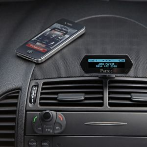 Mito Auto ® - Parrot Bluetooth Hands Free Car Kit With Wireless Remote And LCD Display (55-MKi9100)