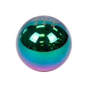 NRG ® - 6 Speed Pattern Multi Color Ball Style Heavy Weight Universal Shift Knob 480g / 1.1lbs (SK-300MC-1-W)