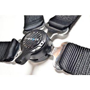NRG ® - Black 4 Point 2 Inches Cam Lock Seat Belt Harness (SBH-4PCBK)