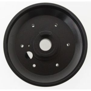 NRG ® - Black Short Hub Adapter (SRK-E30H)