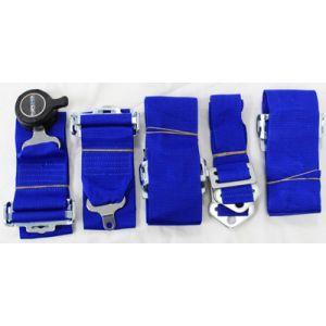 NRG ® - Blue 6 Point 3 Inches Cam Lock Seat Belt Harness (SBH-6PCBL)