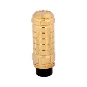 NRG ® - Chrome Gold Stealth Adjustable Shift Knob (SK-500C/GD-2)